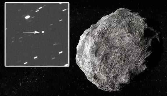 Virtual Telescope Project tarafından elde edilen bu kare göktaşının bugüne kadar çekilen ilk karesi olarak açıklandı.